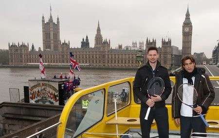 David Ferrer Robin Soderling London O2.10 Double Decker Tour 1 g