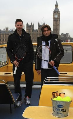 David Ferrer Robin Soderling London O2.10 Double Decker Tour 4 g