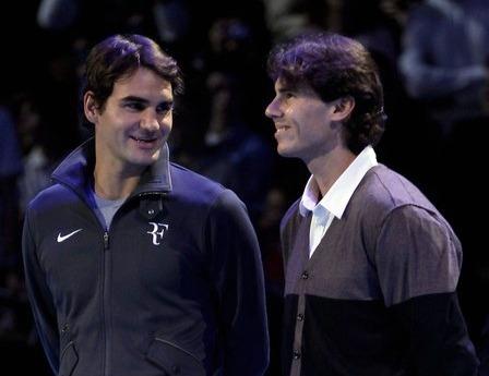 Rafael Nadal Roger Federer London O2.10 Carlos Moya Retirement