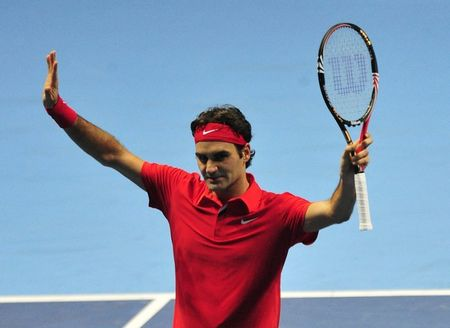 Roger Federer London O2.10 1st RR Match Win 1 r