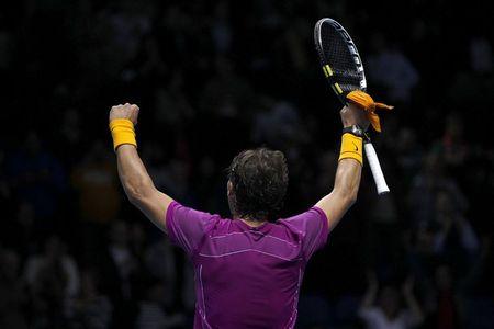 Rafael Nadal London O2.10 1st RR Win r