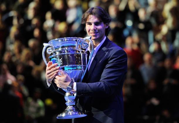 Rafael Nadal London O2.10 Number 1 Trophy g
