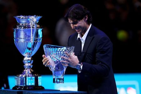 Rafael Nadal London O2.10 Edberg Sportsman Trophy g
