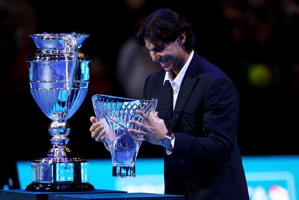 Rafael Nadal London O2.10 Edberg Sportsman Trophy g