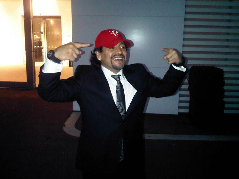 Maradona in RF Hat