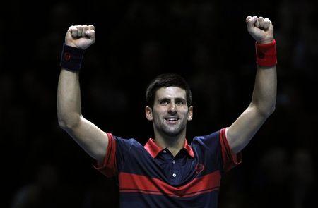 Novak Djokovic London O2.10 2nd RR Match Win r