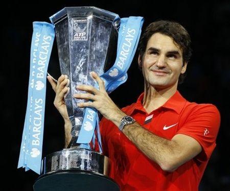 Roger Federer London O2.10 Winner 1