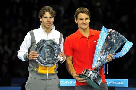 Roger Federer Rafael Nadal London O2.10 1 g
