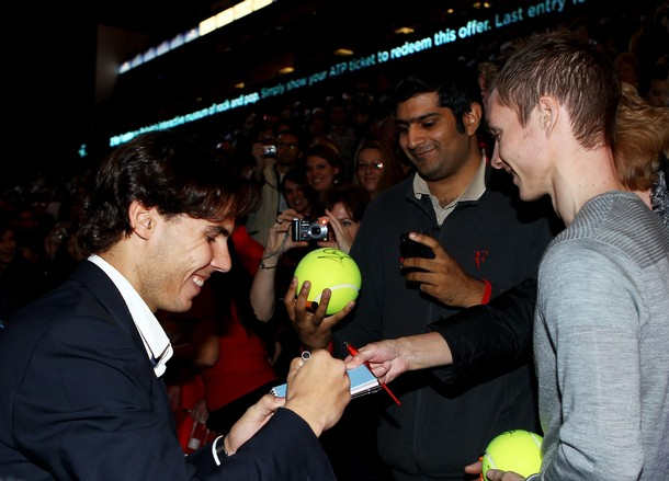 Rafael Nadal London O2.10 Autographs g