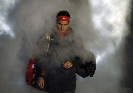 Roger Federer London O2.10 Smoke r