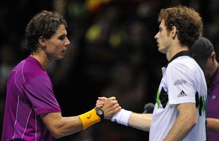 Rafael Nadal Andy Murray London O2.10 Sf 1 g