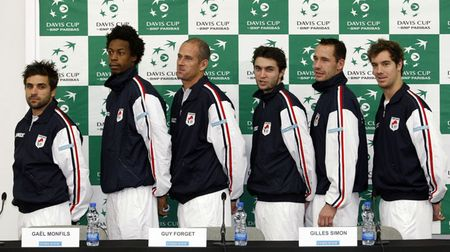 French Davis Cup Team Presser 2