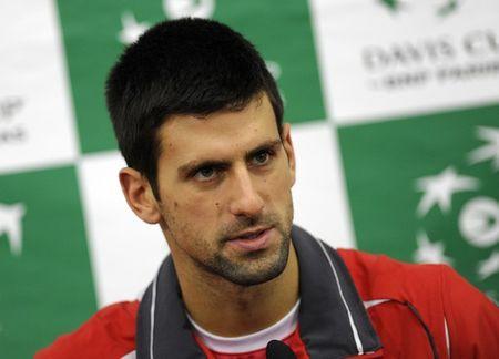 Novak Djokovic Davis Cup.10 Presser g