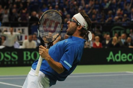 Arnaud Clement Davis Cup.10 Final R3 Win 4 g