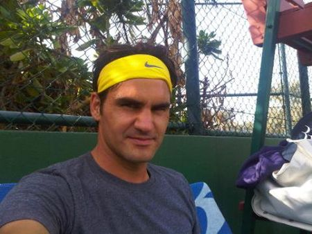 Roger Federer Off-Season.10 Practice fb