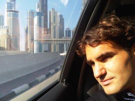Roger Federer Heading to Zurich fb