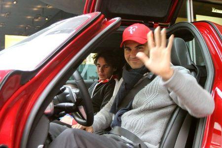 Rafael Nadal Roger Federer Zurich Exo.10 3