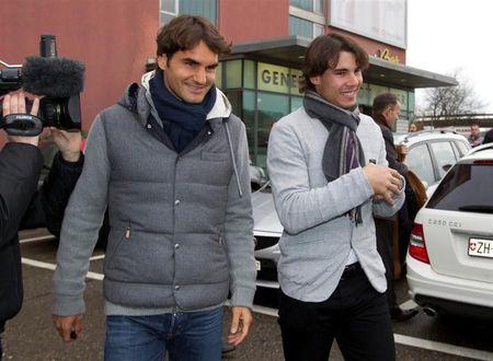Rafael Nadal Roger Federer Zurich Exo.10 4