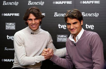 Rafael Nadal Roger Federer Madrid Exo.10 Media