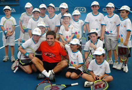 Arnaud Clement Brisbane.11 Kids Day