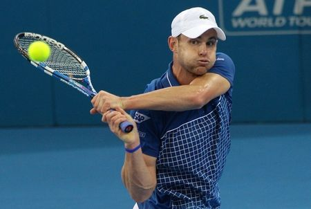 Andy Roddick Brisbane.11 2nd R Win g