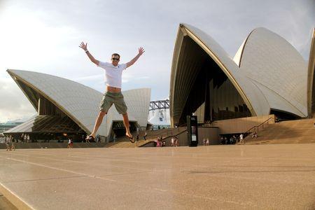 Bob Bryan Sydney Opera House