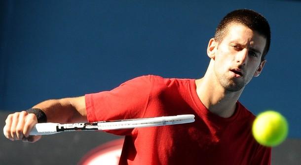 Novak Djokovic AO11 Practic 1 g
