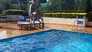 Ana Ivanovic AO11 Swimming Pool