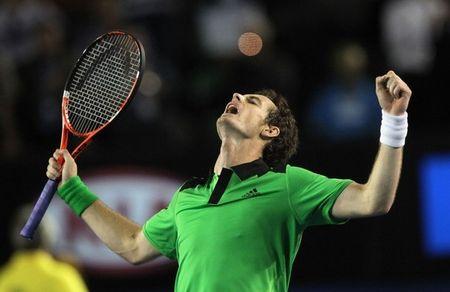 Andy Murray AO11 Sf Win g