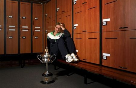 Kim Clijsters AO11 Winner 2