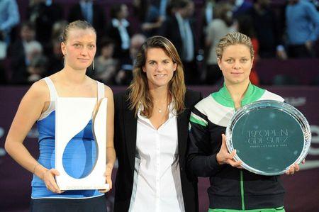 Petra Kvitova Kim Clijsters Amelie Mauresmo Paris.11 Final g