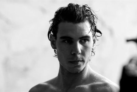 Rafael Nadal Armani Behind the Scenes 4