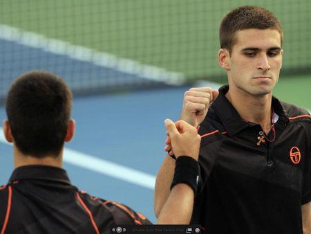 Novak Djokovic Marko Djokovic Dubai.11 1st R Loss