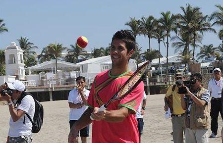 Fernando Verdasco Acapulco.11 Beach Tennis 1 - jorge reyes