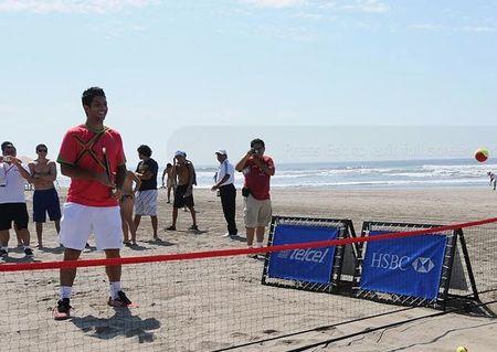 Fernando Verdasco Acapulco.11 Beach Tennis 2 - jorge reyes