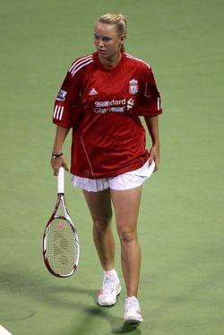 Caroline Wozniacki Doha.11 Qf Win 2 g