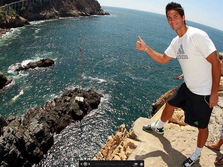 Fernando Verdasco Acapulco.11 Cliff Diving