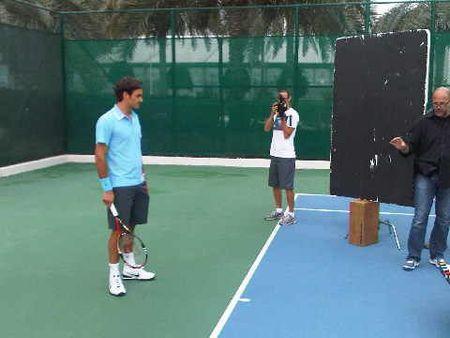 Roger Federer Mercedes Commercial 1