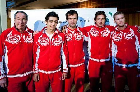 Russian Team Davis Cup 1st Round 2011 Presser