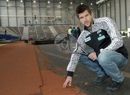 Jurgen Melzer Davis Cup 1st Round 2011 Presser
