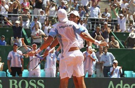 Argentina Davis Cup.11 1st Round Win