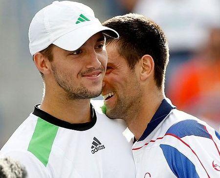 Novak Djokovic Viktor Troicki IW.11 4th R g