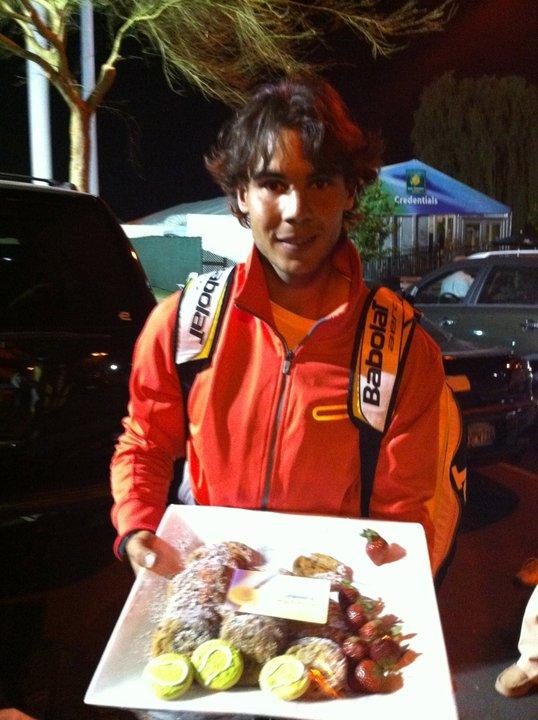 Rafael Nadal IW.11 Cookies