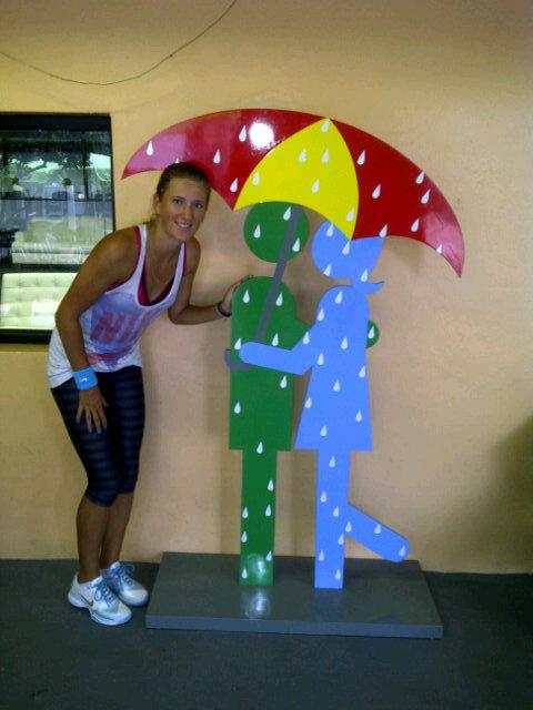 Victoria Azarenka Miami.11 Rain Delay tw