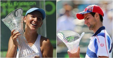 Novak Djokovic Victoria Azarenka Miami.11 Winners