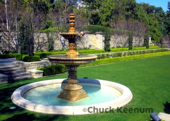2 Greystone Mansion Fountain