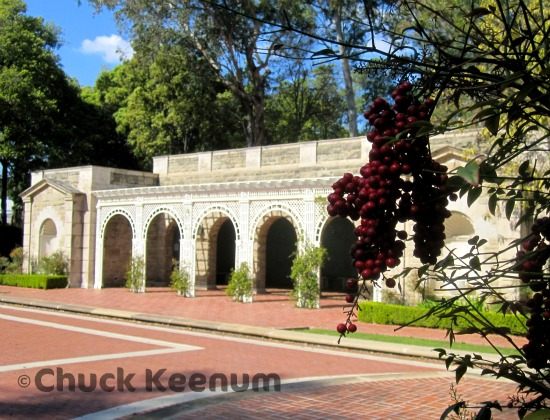 14 Greystone Mansion Arches
