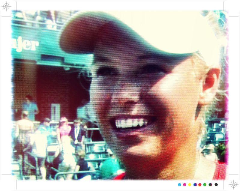Caroline Wozniacki Charleston.11 Qf Win