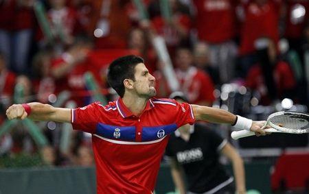 Novak Djokovic Davis Cup.10 R4 Win 2 r