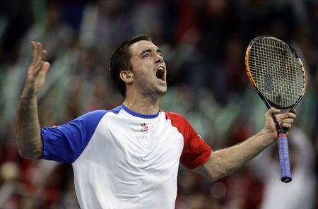 Viktor Troicki Davis Cup.10 R5 Win 1 r